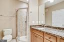 Luxury bathroom! - 20385 BELMONT PARK TER #112, ASHBURN