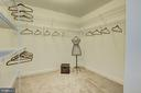 One of the master Closets. There is a second one - 505 GRAND CYPRESS, SILVER SPRING