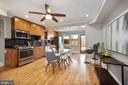 Large Kitchen/Dining Room great for entertaining - 332 CHANNING ST NE, WASHINGTON