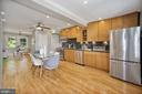 High-end stainless bottom freezer refrigerator - 332 CHANNING ST NE, WASHINGTON