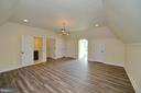 Carriage house upper level bedroom 2 - 40483 GRENATA PRESERVE PL, LEESBURG