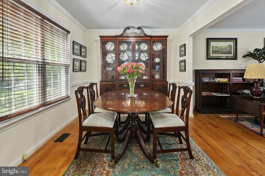Dining Room - 10206 MCKEAN CT, GREAT FALLS