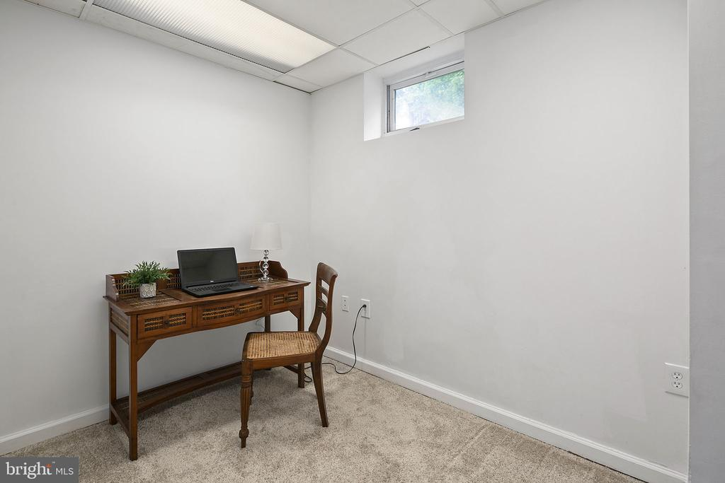 Lower level bedroom, den or office - 10206 MCKEAN CT, GREAT FALLS