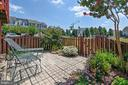 Enjoy backyard  surrounded by beautiful flowers. - 43496 GREENWICH SQ, ASHBURN