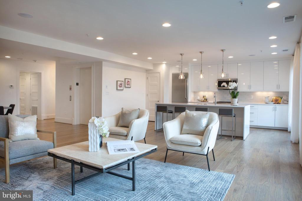 Living Area West - 645 MARYLAND AVE NE #201, WASHINGTON