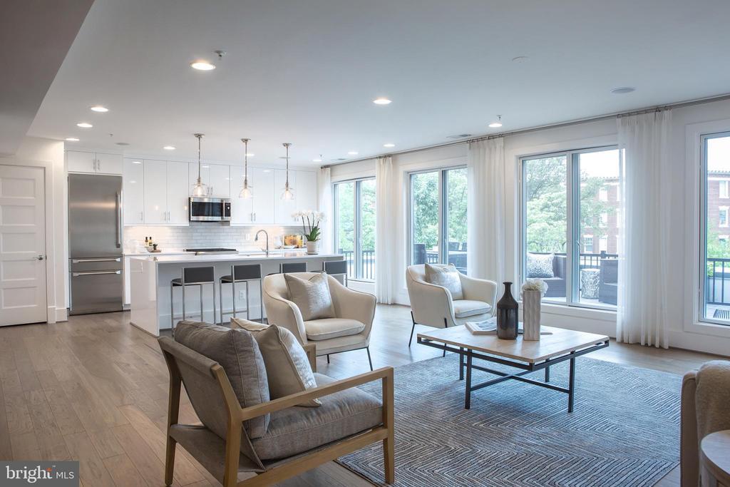 Living Area Northwest - 645 MARYLAND AVE NE #201, WASHINGTON