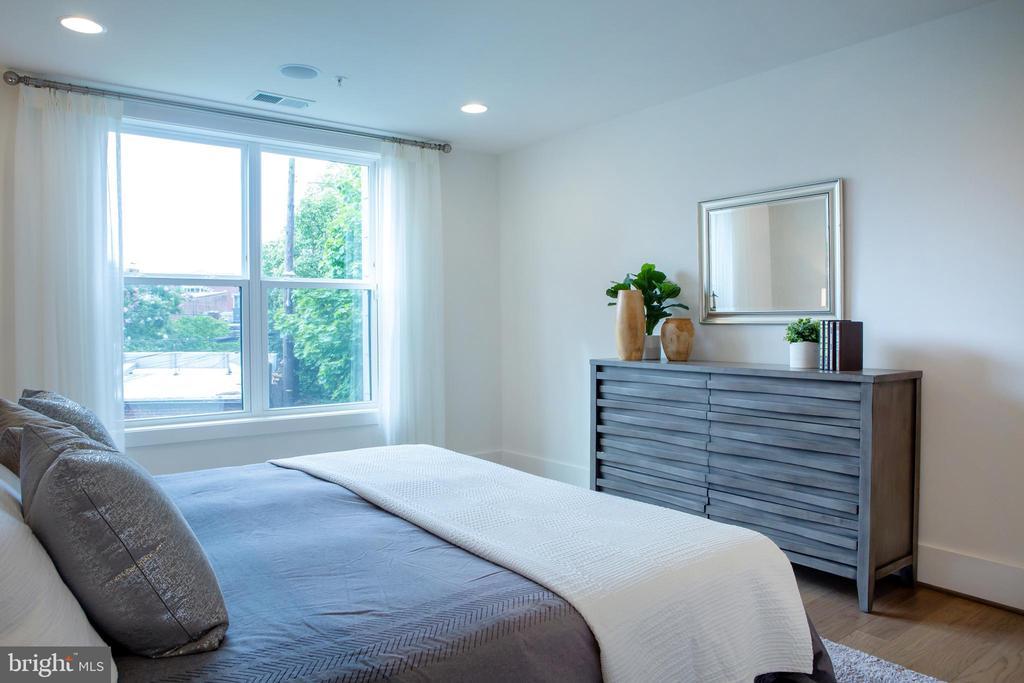 Master Bedroom Southwest - 645 MARYLAND AVE NE #201, WASHINGTON