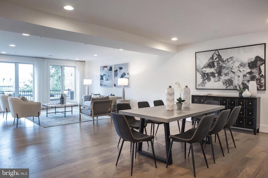 Expansive Living-Dining Area Northeast - 645 MARYLAND AVE NE #201, WASHINGTON