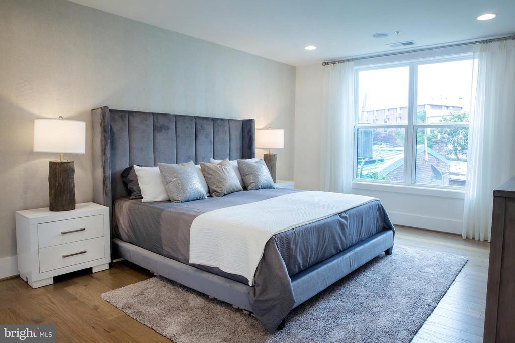 Master Bedroom Southeast - 645 MARYLAND AVE NE #201, WASHINGTON