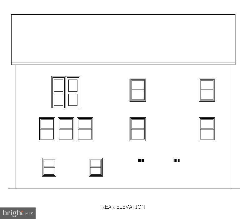Rear Elevation - 5148 11TH ST S, ARLINGTON