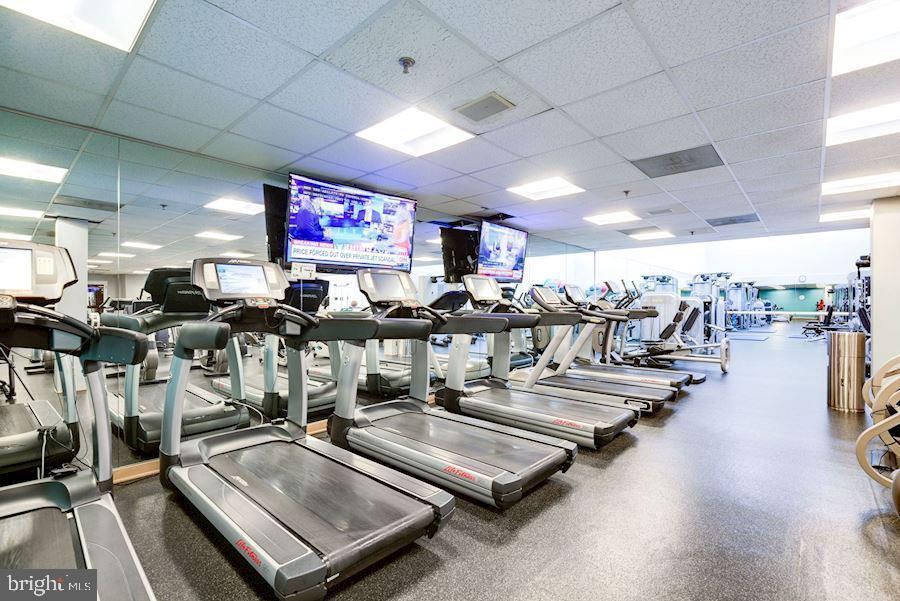 Fitness center is world class - 5630 WISCONSIN AVE #905, CHEVY CHASE