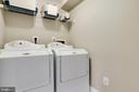 Separate Laundry Room in lower level - 181 CAMERON STATION BLVD, ALEXANDRIA