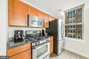 Gourmet kitchen w/ stainless steel appliances - 1205 N GARFIELD ST #608, ARLINGTON