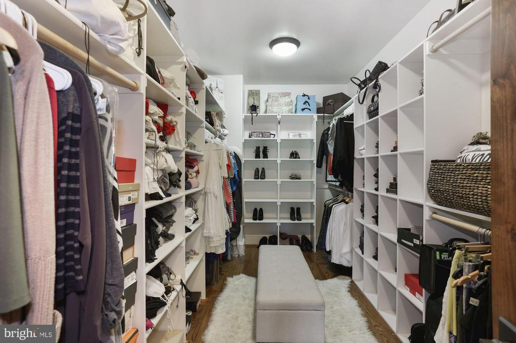 One of TWO large walk-in master closets - 4408 33RD RD N, ARLINGTON