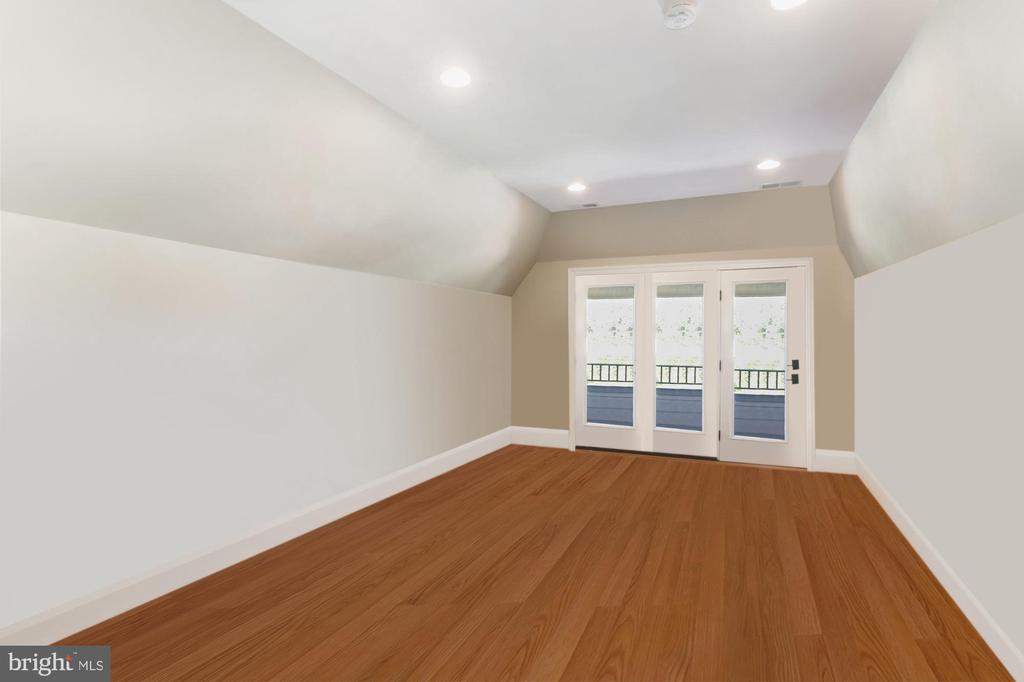 4th Level Loft can be used as a bedroom! - 4408 33RD RD N, ARLINGTON