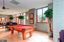 Station square club room pool table. - 1205 N GARFIELD ST #608, ARLINGTON