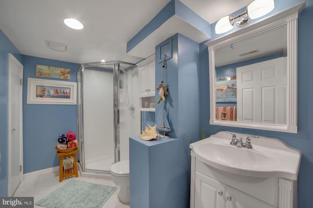 Full Bathroom #2 - Updated Beautifully! - 7326 RONALD ST, FALLS CHURCH