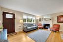 Living Room - Neutral Paint Palette! - 7326 RONALD ST, FALLS CHURCH