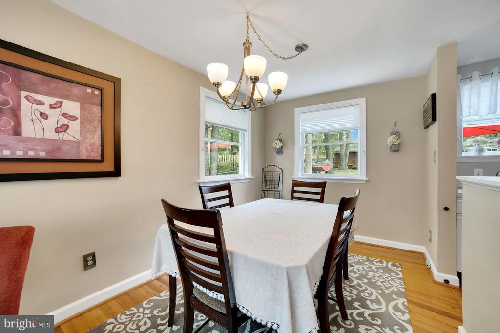 Dining Room - A Real Separate Dining Area! - 7326 RONALD ST, FALLS CHURCH