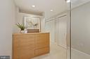 Dressing room area in owner's suite - 5630 WISCONSIN AVE #905, CHEVY CHASE