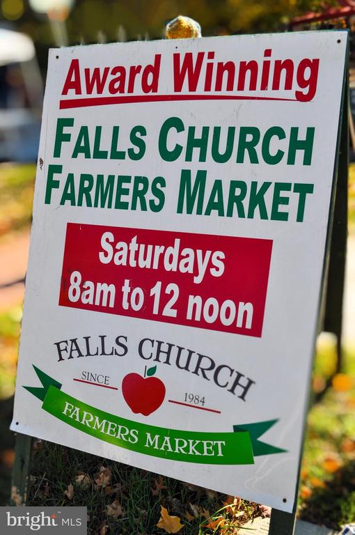 Spend Lazy Weekend Days at the Farmers Market! - 7326 RONALD ST, FALLS CHURCH
