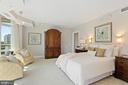Owner's bedroom - 5630 WISCONSIN AVE #905, CHEVY CHASE