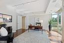 Office off owner's bedroom - 5630 WISCONSIN AVE #905, CHEVY CHASE
