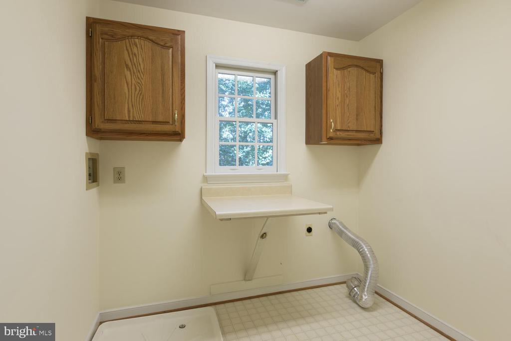 Nice sized laundry room on upper level - 2305 HARPOON DR, STAFFORD