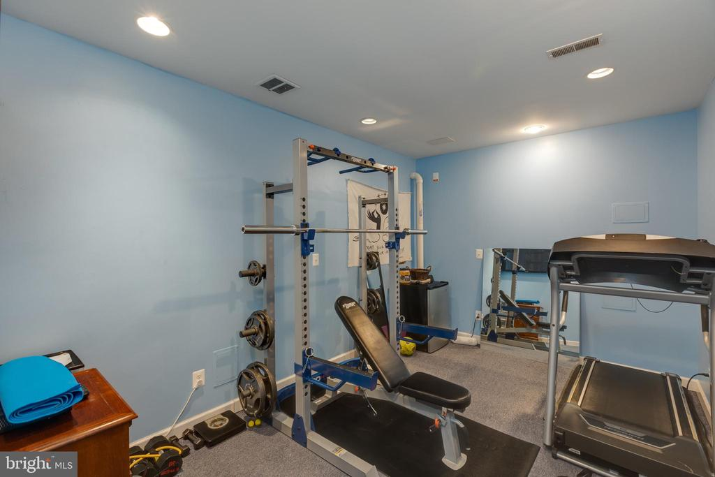 Home Gym - 22749 HIGHCREST CIR, BRAMBLETON