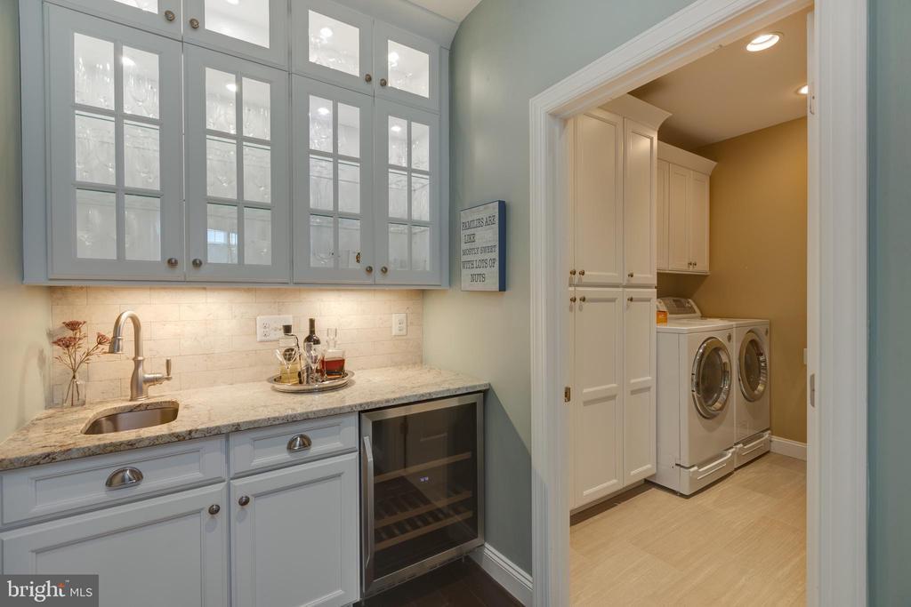 Wet Bar/Pantry/Laundry Room - 22749 HIGHCREST CIR, BRAMBLETON