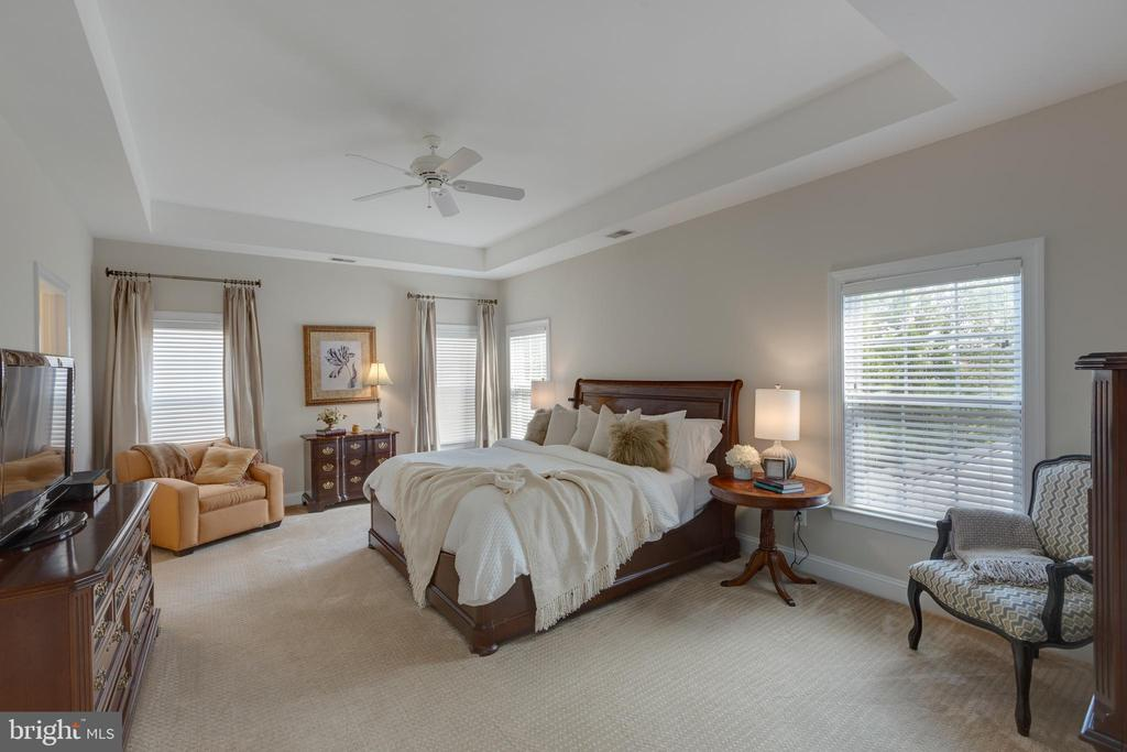 Master Bedroom with Tray Ceiling - 22749 HIGHCREST CIR, BRAMBLETON