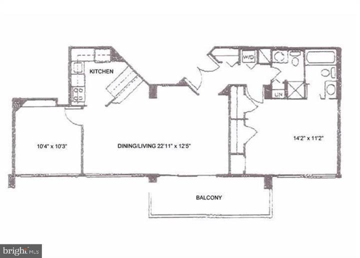 Spacious Floor Plan - 1301 N COURTHOUSE RD #1007, ARLINGTON