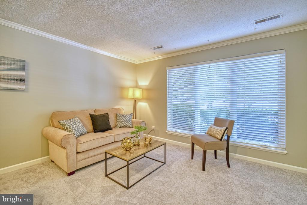 Lots of natural light in living area - 1638 WESTWIND WAY, MCLEAN
