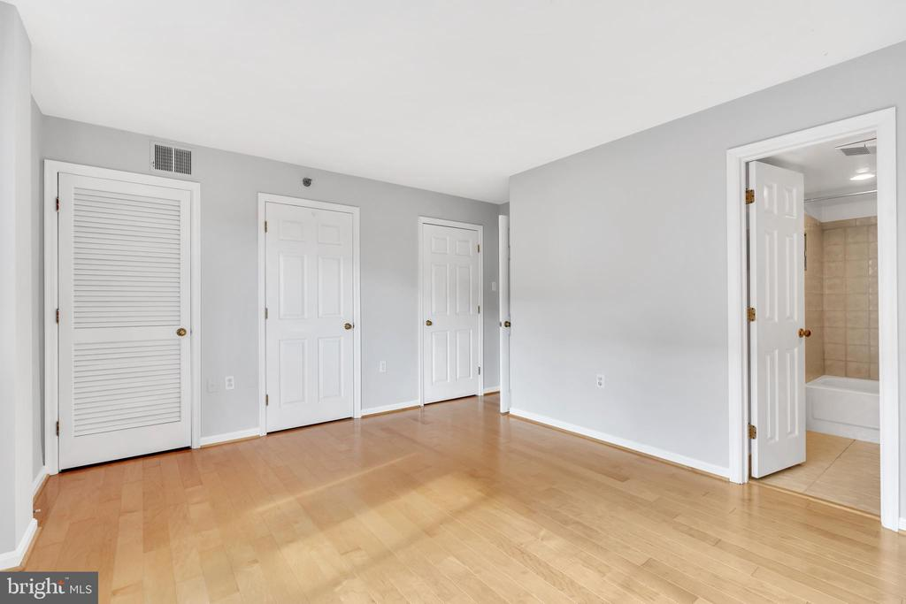 Master Bedroom - Ensuite and double closet - 1301 N COURTHOUSE RD #1007, ARLINGTON