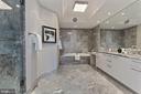 Marble Primary Bath - 1881 N NASH ST #810, ARLINGTON
