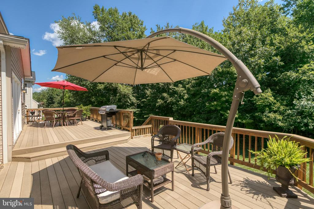 Deck Spans Almost the Entire Length of Home - 3 ETERNITY CT, STAFFORD