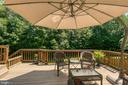 Lower Level Deck for Lounging - 3 ETERNITY CT, STAFFORD