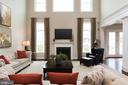 Massive yet cozy, with a gas fireplace - 25748 RACING SUN DR, ALDIE