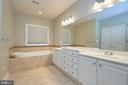 Owner's Bath - 19059 ARROYO TER, LEESBURG