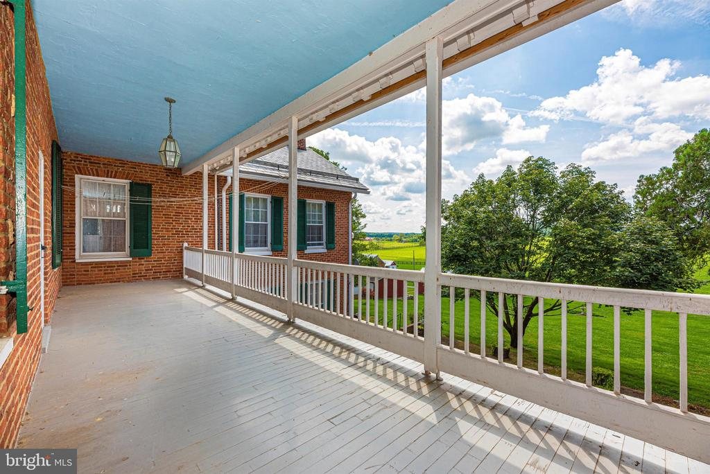From balcony overlooking patio - 7030 DRUMMINE RD, MOUNT AIRY