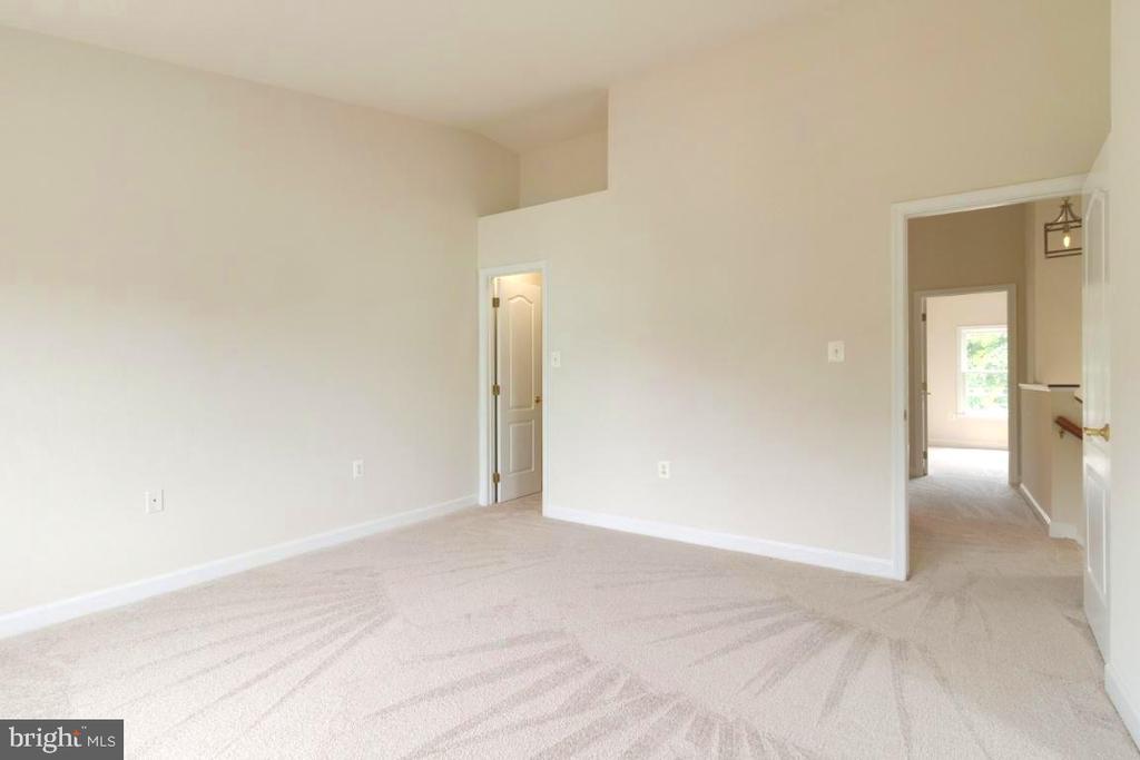Owner suite with huge WIC - 255 TOWN BRANCH TER SW, LEESBURG