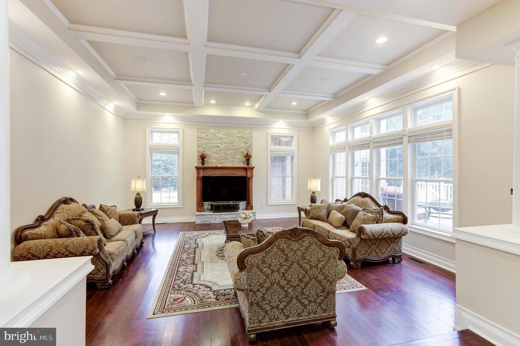 Living Room! - 11400 ALESSI DR, MANASSAS
