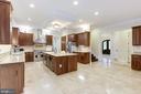 Beautiful view of Kitchen - 11400 ALESSI DR, MANASSAS