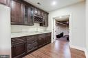 Basement Kitchen off of the Theater! - 11400 ALESSI DR, MANASSAS