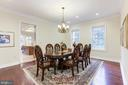A View into the Kitchen! - 11400 ALESSI DR, MANASSAS
