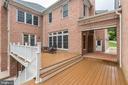 Deck Walkway to the Detached Garage/ Inlaw Suite! - 11400 ALESSI DR, MANASSAS