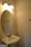 Powder room - 22651 BEAVERDAM DR, ASHBURN