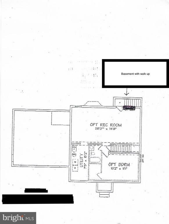 Lower Level floor plan - 10 ABINGTON CT, FREDERICKSBURG