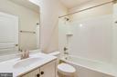 Lower level full bath. - 19433 SASSAFRAS RIDGE TER, LEESBURG