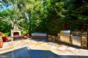 Beautiful slate patio - 20592 CUTWATER PL, STERLING